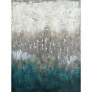 home affaire olieverfschilderij abstract (1 stuk) grijs