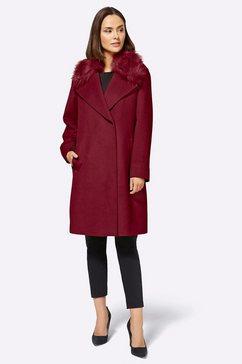 isabell schmitt winterjas rood
