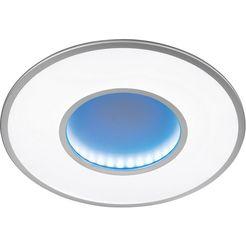 honsel leuchten led-plafondlamp jona zilver