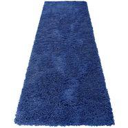 hoogpolige loper, home affaire, »viva«, hoogte 45 mm, geweven blauw