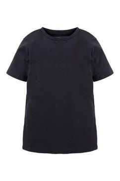 tom tailor t-shirt »basic t-shirt aus baumwolle« blau