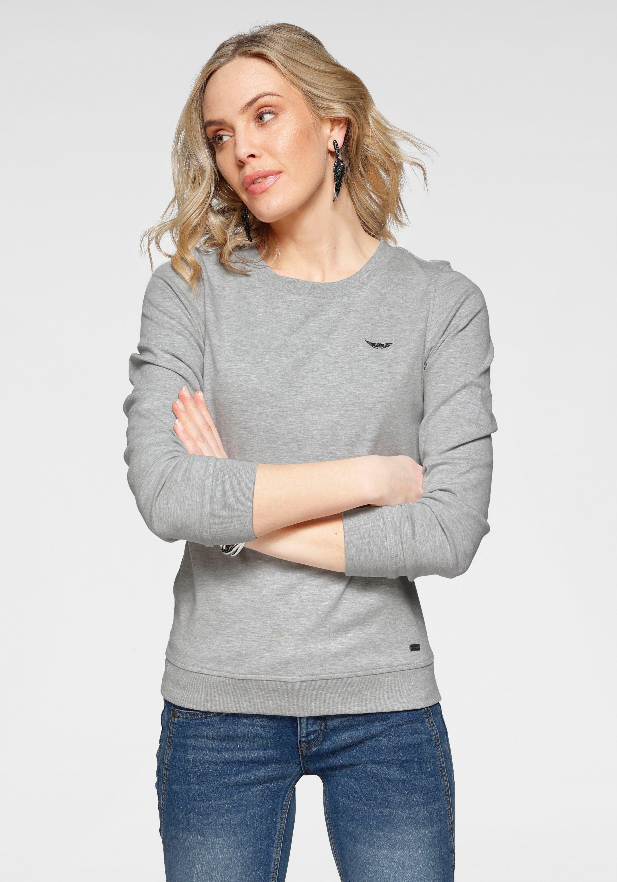 Arizona sweatshirt met logoborduursel nu online bestellen