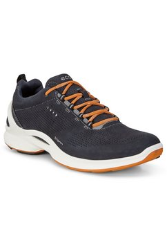 ecco sneakers biom fjuel met contrastdetails blauw