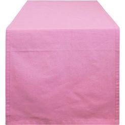 hossner - homecollection tafelloper 322 ventura (1 stuk) roze