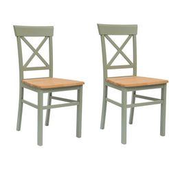 "home affaire stoel ""tatra"" groen"