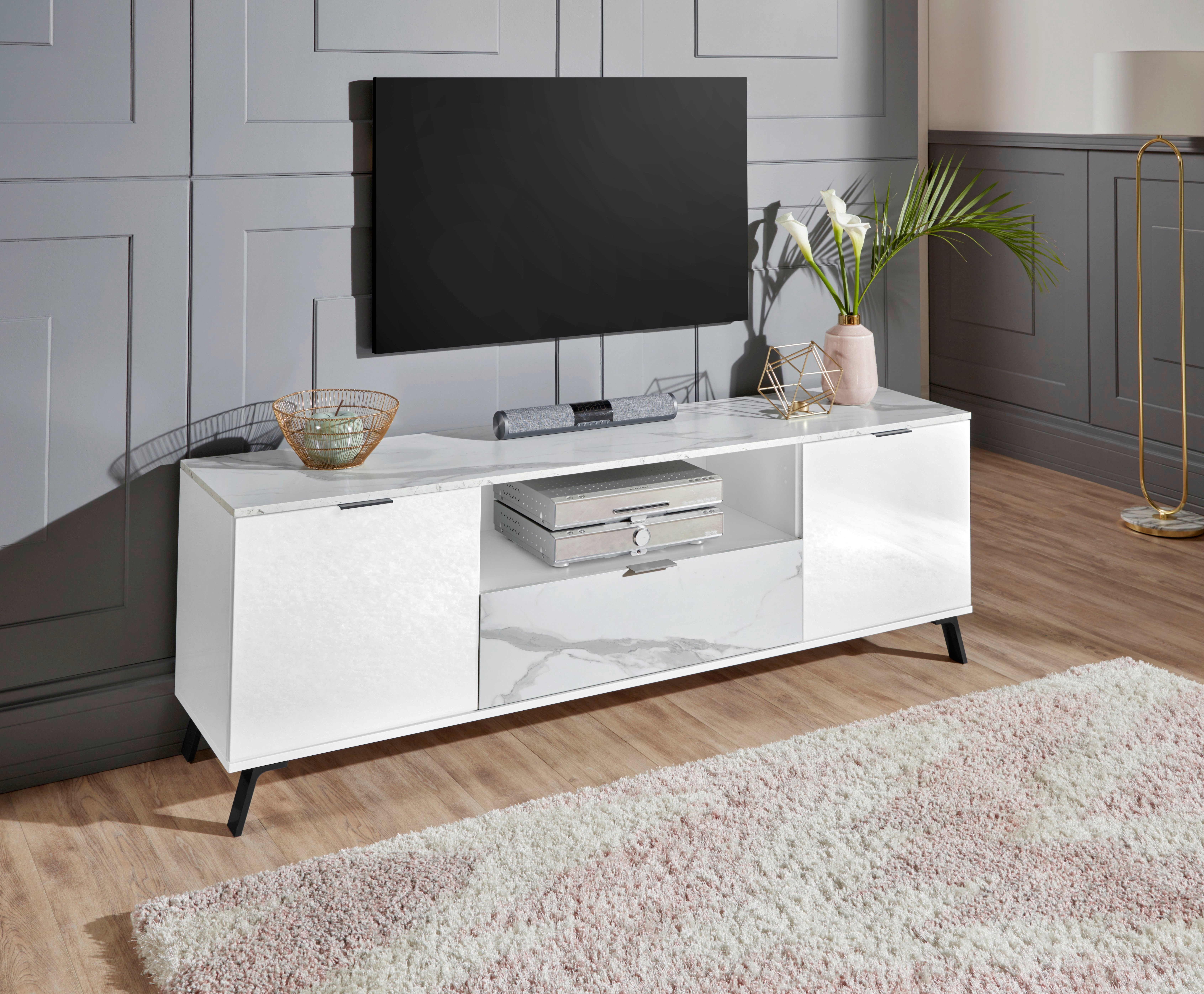 KITALY tv-meubel CASANOVA Breedte ca. 180 cm veilig op otto.nl kopen
