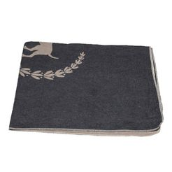 """david fussenegger deken voor dieren honden, heerlijk zachte dierendeken """"best friend"""" - made in austria (1 stuk) grijs"""