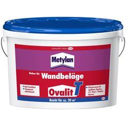 metylan behanglijm ovalit t 2 x 5 kg emmer, voor textielbehang, metalen behang (2-delig) wit
