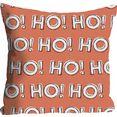 queence kussenovertrek ho! ho! ho! (1 stuk) oranje