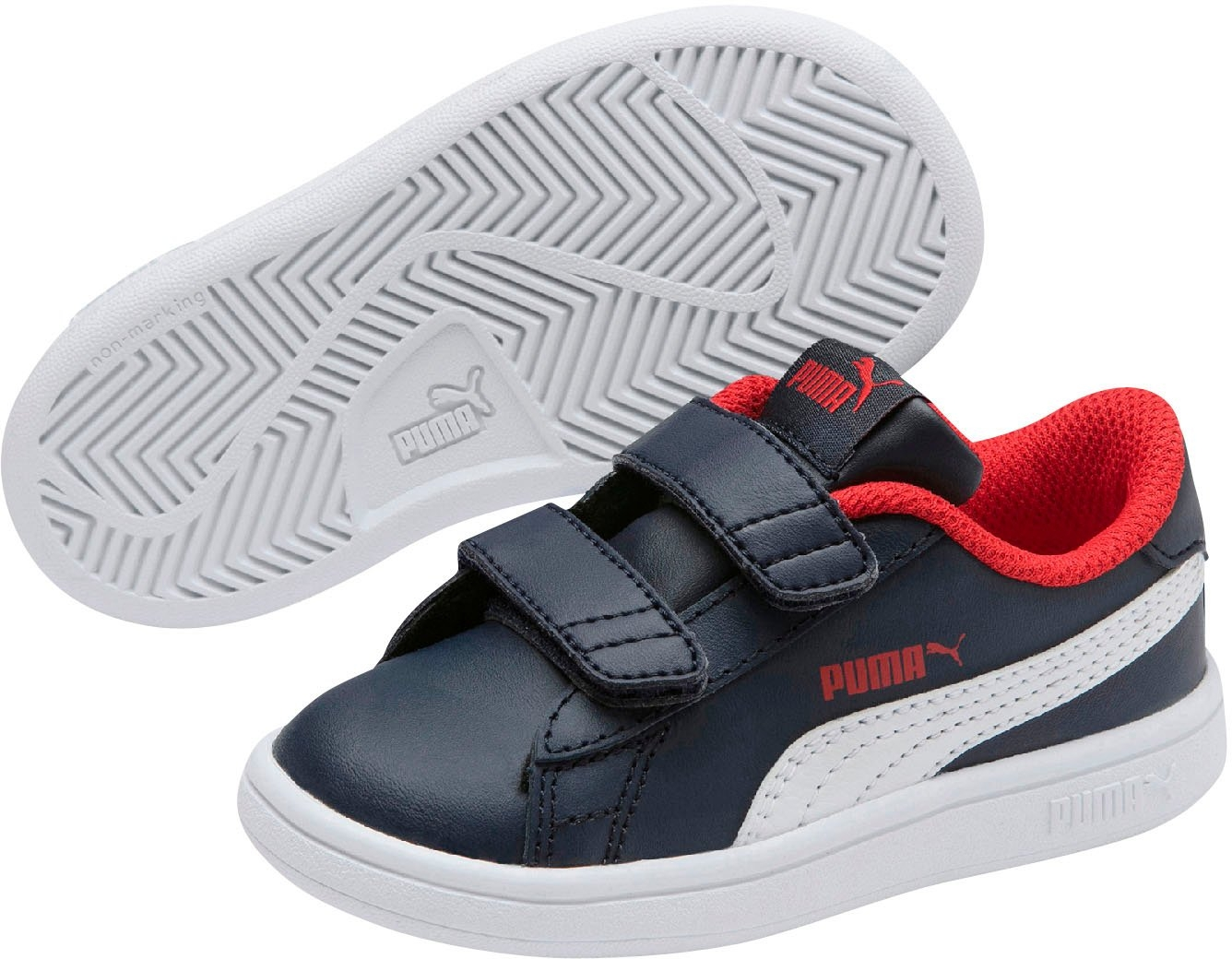 PUMA sneakers »Smash v2 L V Inf« bij OTTO online kopen