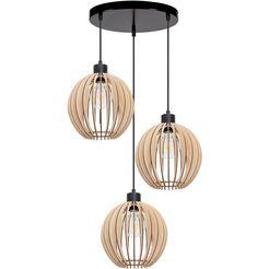 otto products hanglamp maara natuurproduct van multiplex met fsc-certificaat, bijpassende lm e27 - exclusief, made in europe bruin
