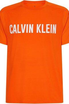 calvin klein performance runningshirt oranje