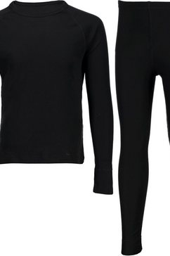cmp thermo-onderhemd ski-ondermodeset (met thermo-onderbroek) zwart