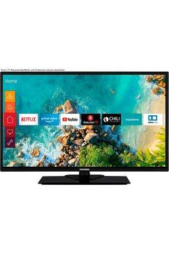telefunken »d32f554m1cw« led-tv zwart