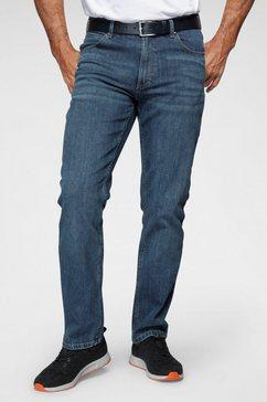wrangler straight jeans »authentic straight« blauw