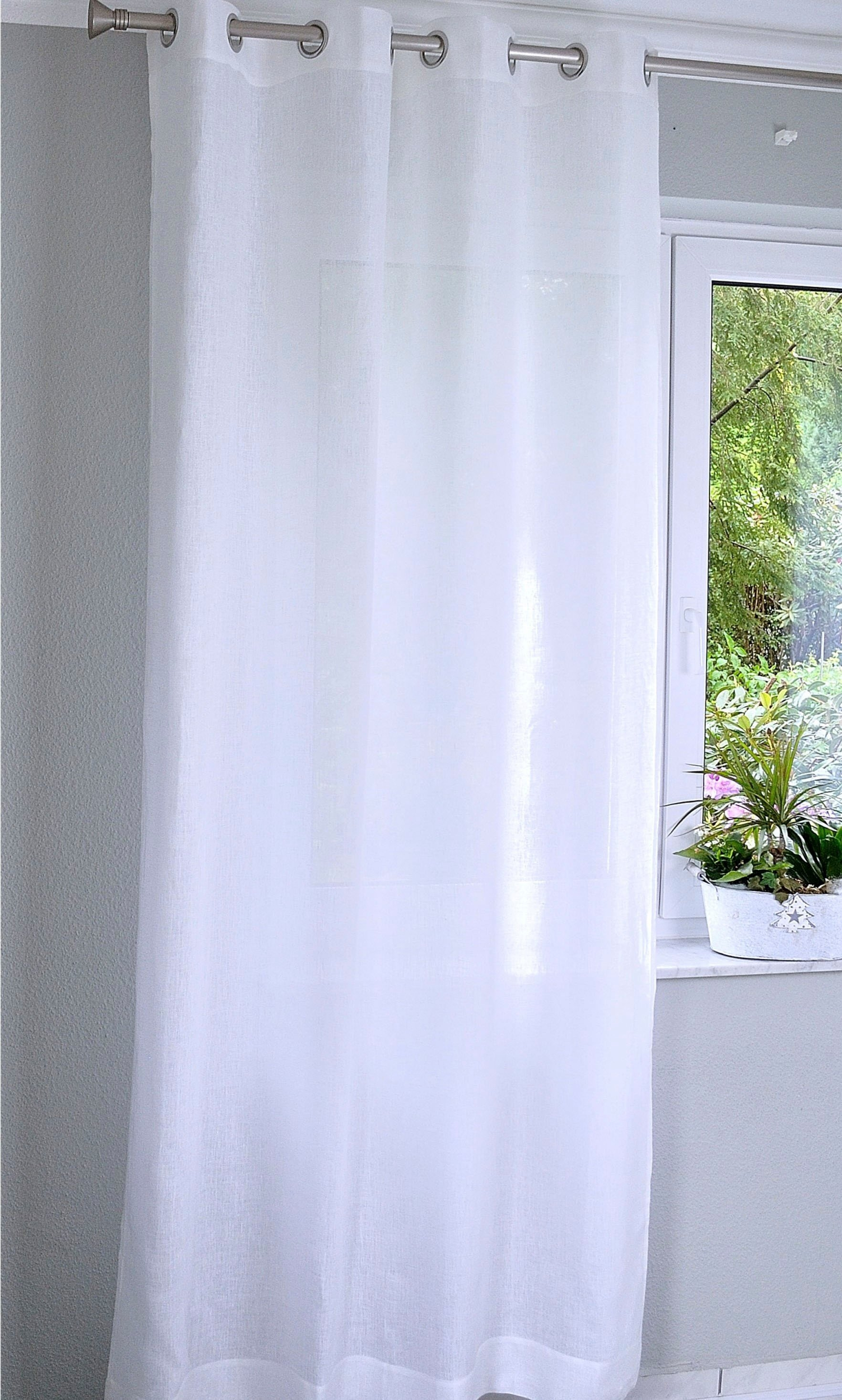 Kutti Gordijn Metis linnen 100% puur linnen (1 stuk) voordelig en veilig online kopen