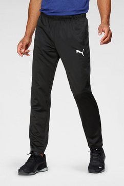 puma sportbroek »active tricot pants cl« zwart