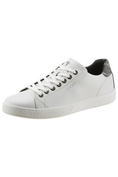 joop! sneakers cortina fine in klassieke look wit