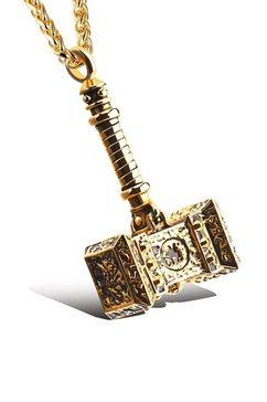 firetti ketting met hanger goud