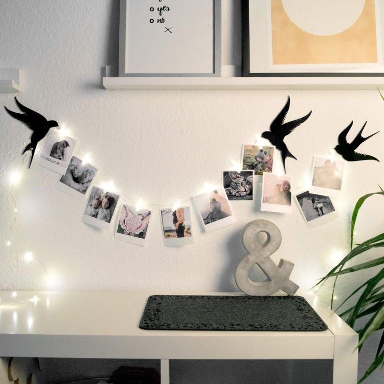 Wall-Art Hangdecoratie Foto klemmen ledlichtsnoer (1 stuk) veilig op otto.nl kopen