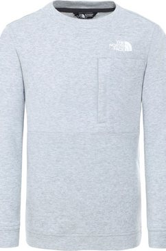 the north face sweater grijs
