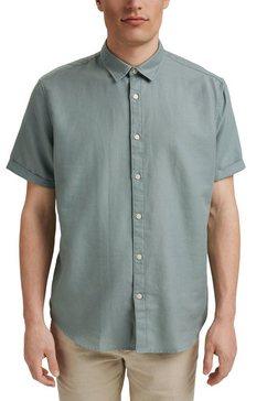 esprit overhemd met korte mouwen groen