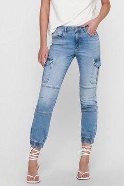 only cargo jeans »onlmissouri« blauw