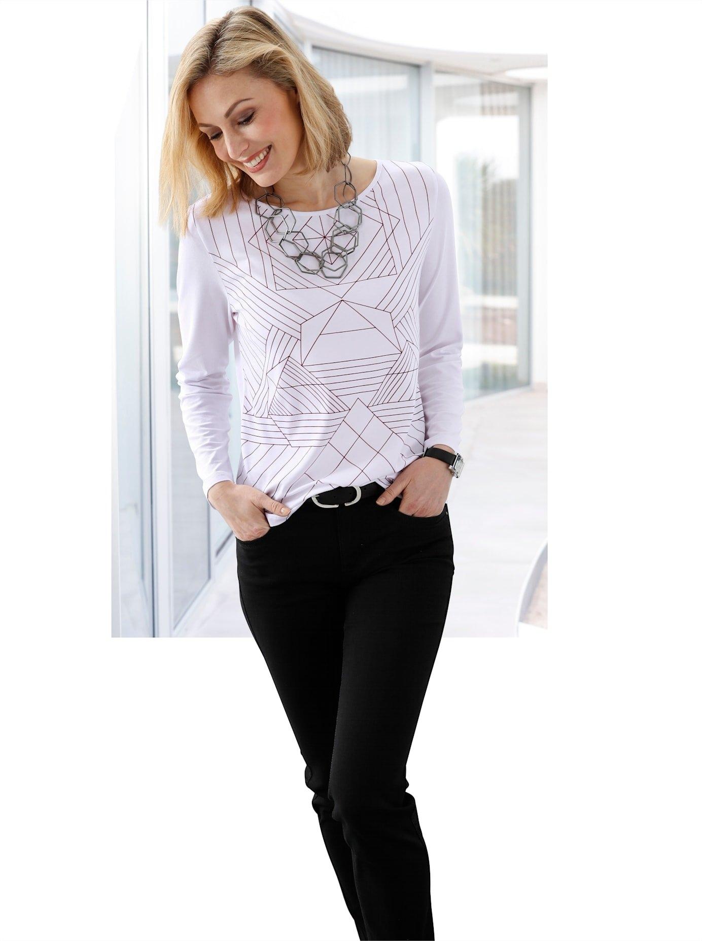 Ambria shirt met ronde hals bij OTTO online kopen