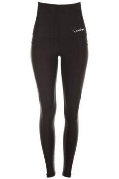 winshape legging hwl103 met smartphone-zakken zwart