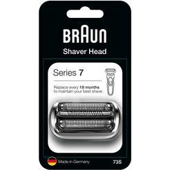 braun extra scheerkop series 7 73s voor series 7 elektrisch scheerapparaat v.a. 2020 zilver