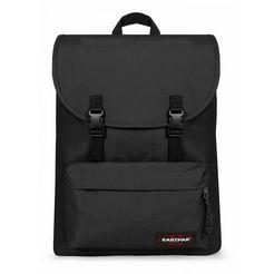 eastpak laptoprugzak london+, black bevat gerecycled materiaal (global recycled standard) zwart