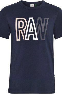 g-star raw shirt met ronde hals »raw r t-shirt«