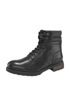 pantofola d´oro hoge veterschoenen levico uomo high zwart