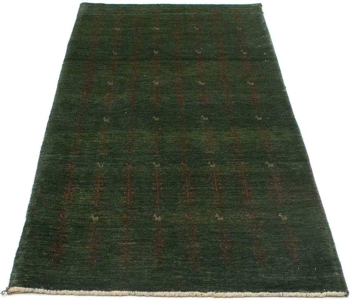morgenland wollen kleed Loribaft Teppich handgeknüpft grün handgeknoopt goedkoop op otto.nl kopen