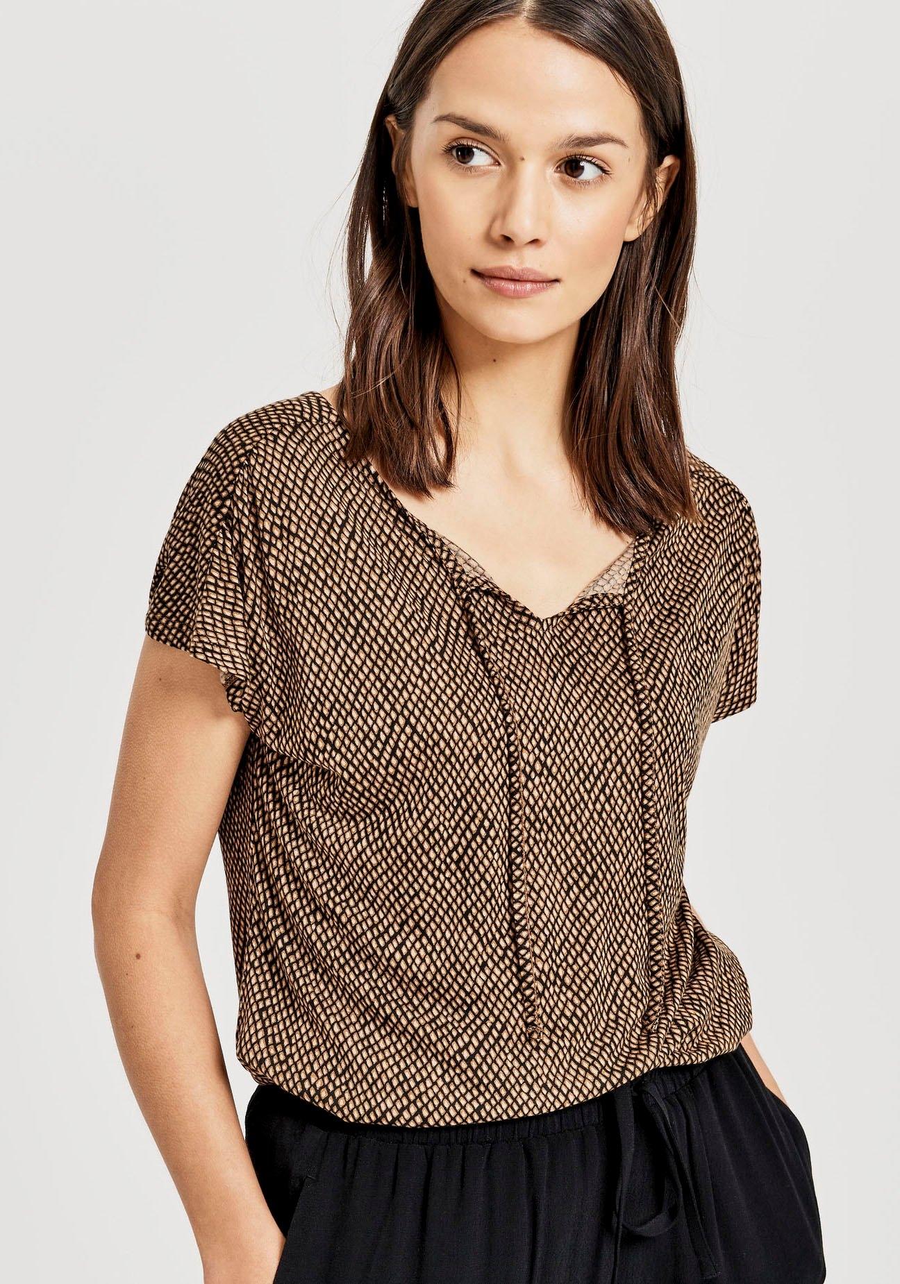 OPUS T-shirt »Susy« nu online bestellen