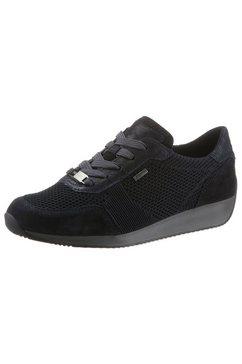 ara sneakers lissabon met gore-tex blauw
