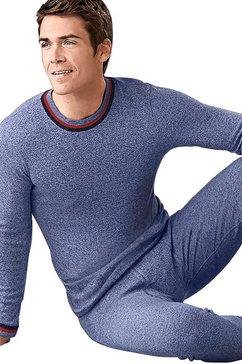 hemd met lange mouwen (set van 2) blauw