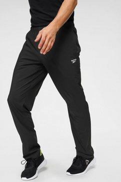 reebok trainingsbroek »te woven ultimate pants« zwart