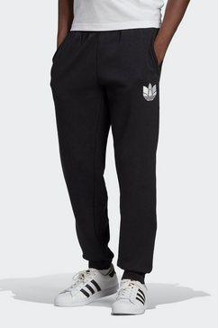adidas originals joggingbroek »adicolor 3d trefoil graphic« zwart