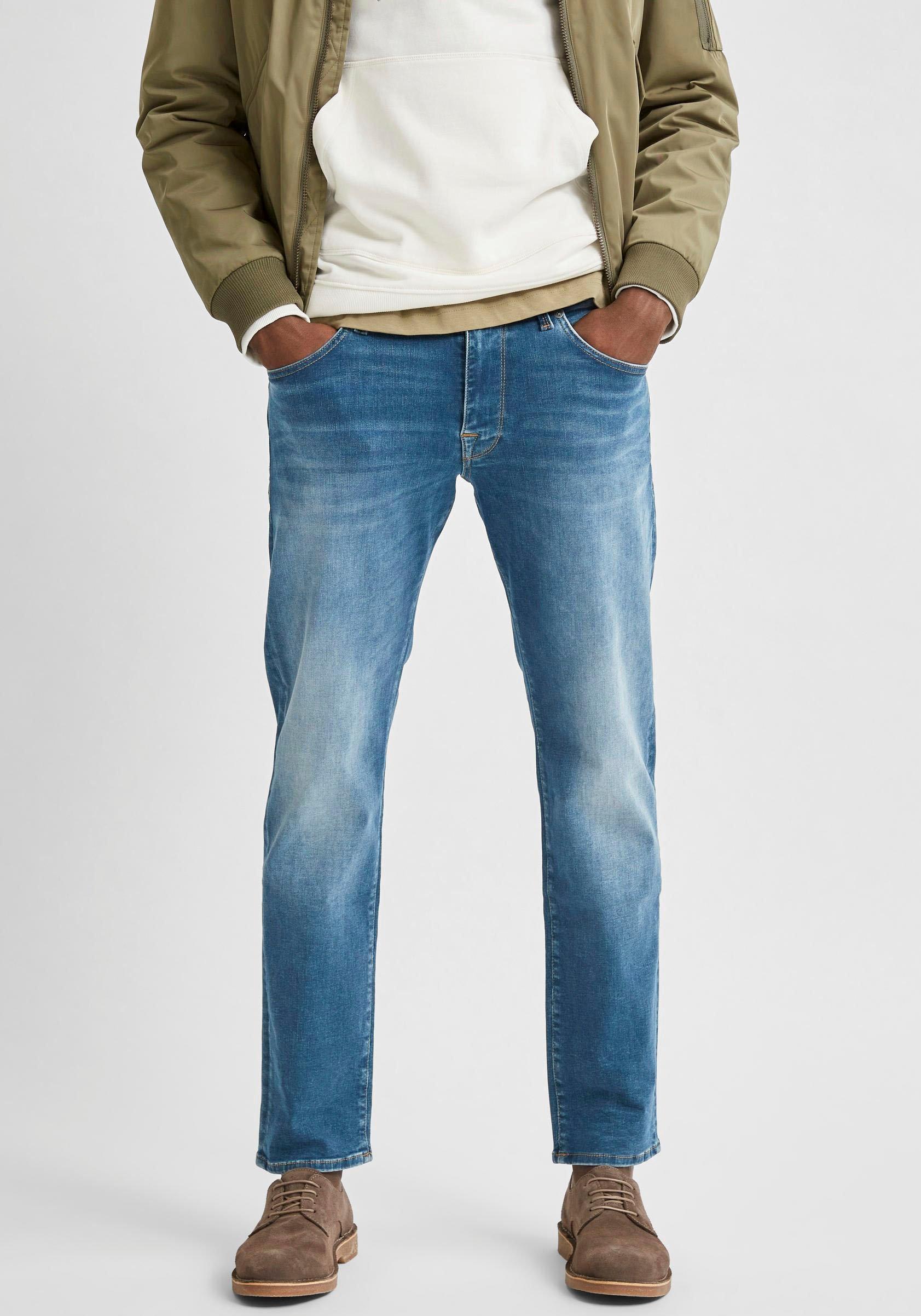 SELECTED HOMME straight jeans Scott nu online kopen bij OTTO