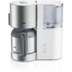 braun filterkoffiemachine id collection kf 5105 wh wit wit
