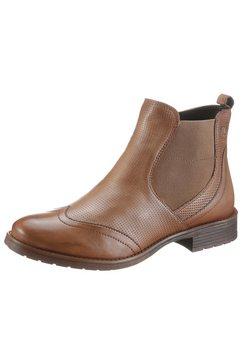bugatti chelsea-boots »ronja eco« beige