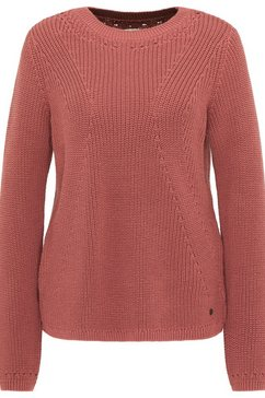 mustang sweater »carla c structure« rood