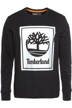 timberland shirt met lange mouwen zwart