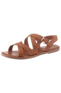 toms sandalen »sicily« bruin