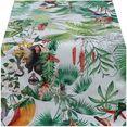 hossner - homecollection tafelloper junglekleur (1 stuk) multicolor