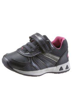 geox kids sneakers b pavlis girl met zacht verdikte en uitneembare binnenzool blauw