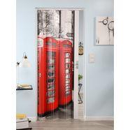 kunststof vouwdeur »vera«, met motief 'telefooncel' multicolor