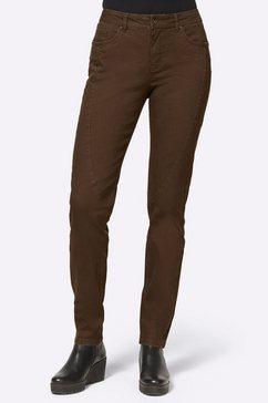 linea tesini by heine skinny jeans bruin