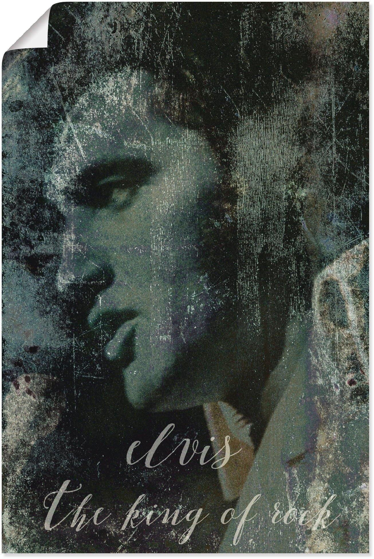 Artland artprint »Elvis the King« bestellen: 30 dagen bedenktijd